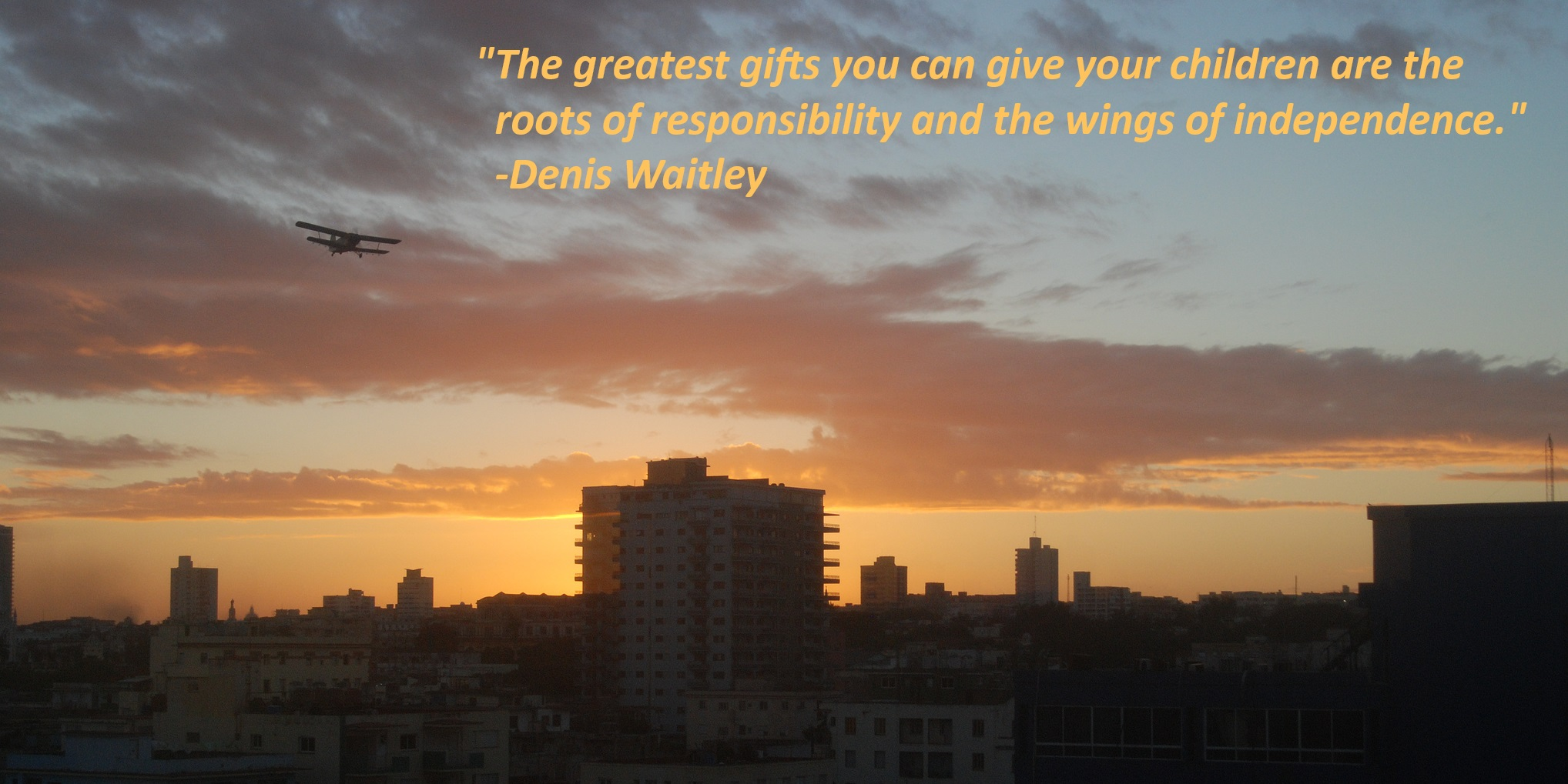 Denis Waitley Quote the greatest gifts you can give your children are the roots of responsibility and the wings of independence