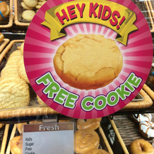 Hey Kids! Free Cookie